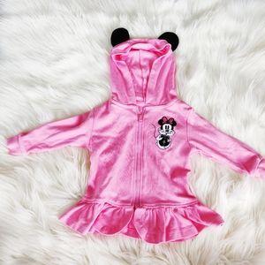 Disney pink Minnie Mouse hoodie sweater